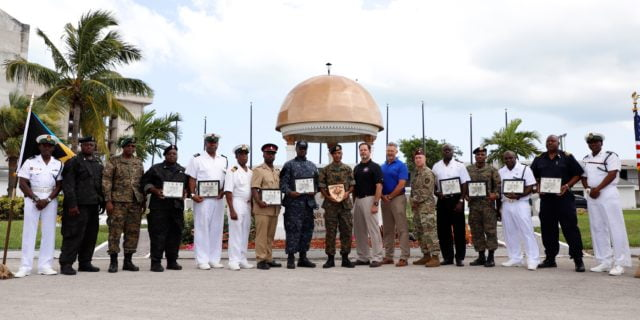 Joint combined exercise training graduation held at RBDF base