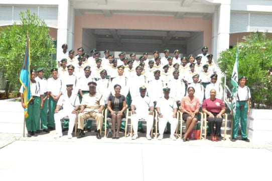 RBDF Rangers holds passing out parade in Abaco