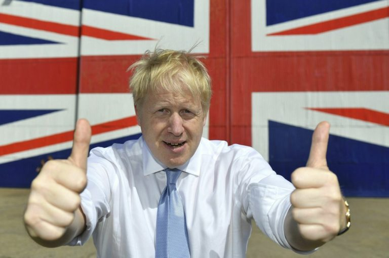 Boris Johnson's chaotic path to power finally pays off