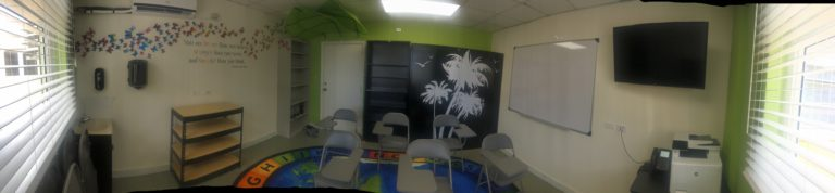 PMH christens newly renovated children's ward classroom
