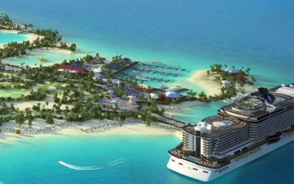 Govt. approves MSC Ocean Cay as marine protected area