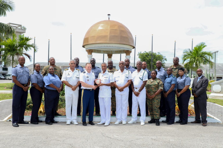 Royal Bahamas Defence Force and USNORTHCOM legal subject matter expert exchange