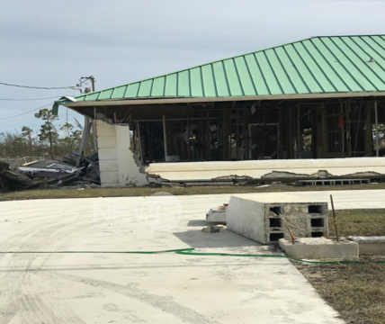 Many businesses on Grand Bahama and Abaco either uninsured or underinsured