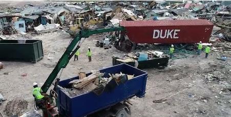 Shantytown resident: Govt. destroyed my home, not Hurricane Dorian