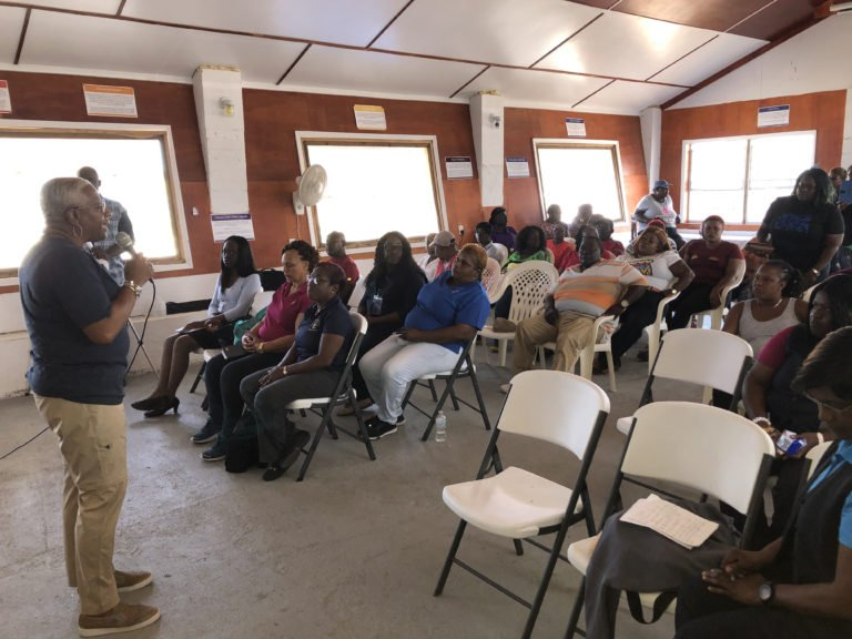 Moore's Island residents updated on home repair initiative