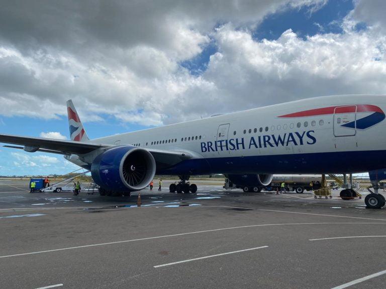 45 British nationals repatriated home on British Airways humanitarian flight