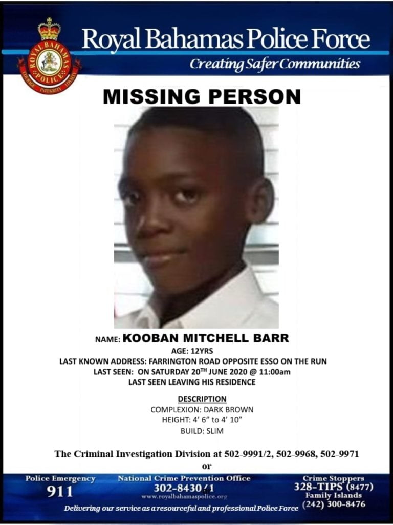 UPDATE: Missing 12-year-old boy reunited with family