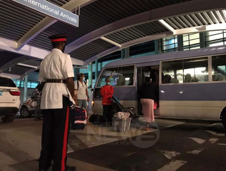 Parents angered after passengers from Florida, Grand Bahama placed in quarantine
