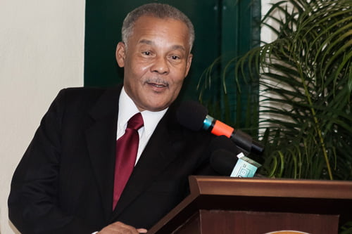 PLP pays tribute to former Barbadian PM Owen Arthur