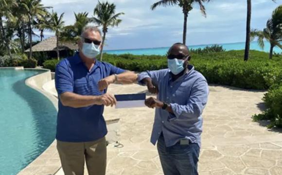 Exuma virtual race raises $12,000 for COVID relief, food, tablets