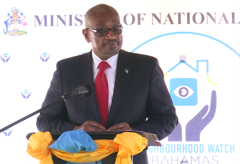 PM urges Bahamians to get involved in neighbourhood watch campaign