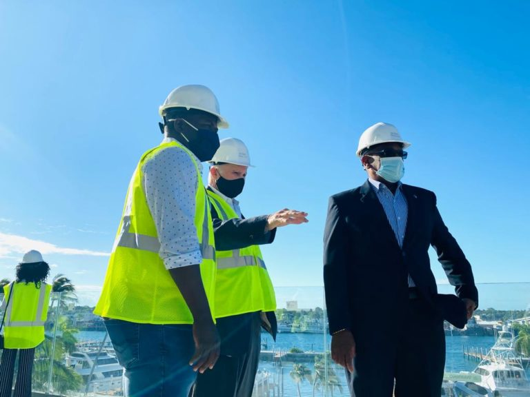 PM commends ongoing Hurricane Hole Marina redevelopment