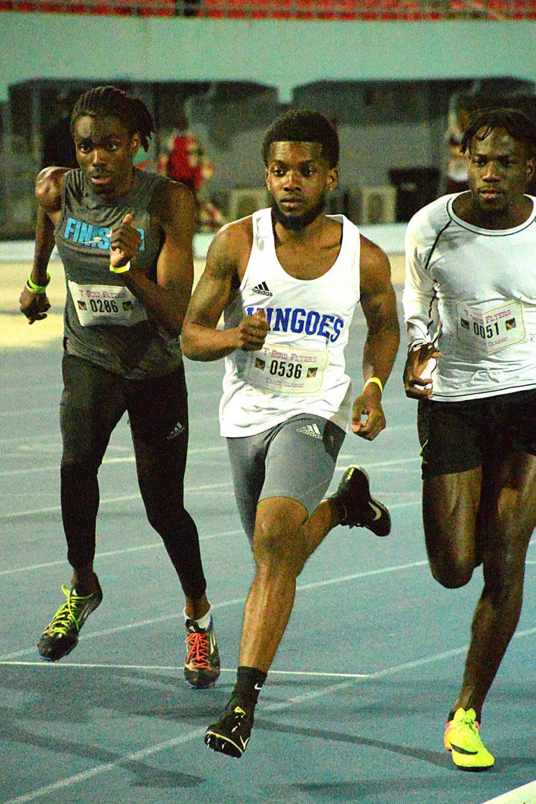 Mingoes win three events at season opening track meet