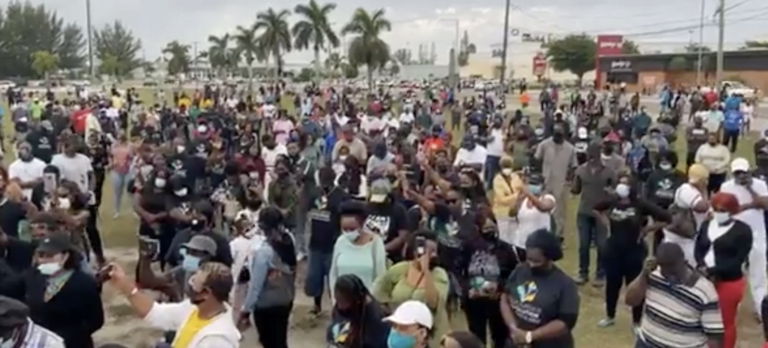 """Bahamian Evolution: """"Time for civil disobedience"""""""