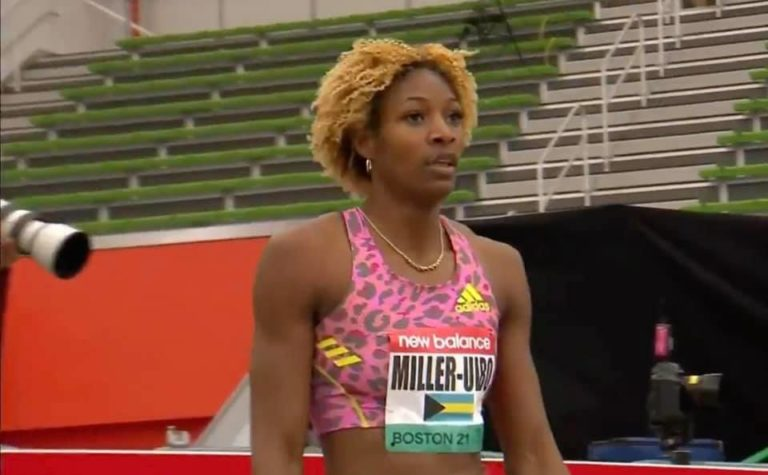 Miller-Uibo sets new indoor 400m national record