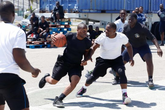RBDF continues Health and Fitness Month with basketball competition