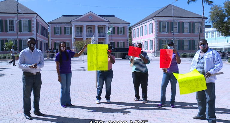 HELD HOSTAGE: Furloughed hotel workers plead with Atlantis for termination