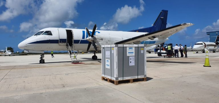 REINFORCEMENTS: COVID-19 vaccines from COVAX Facility touchdown in The Bahamas
