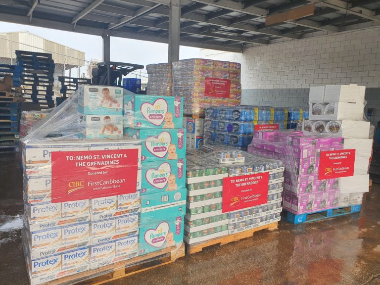 CIBC FirstCaribbean donates to relief efforts in St Vincent