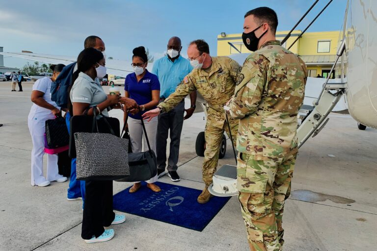 US helps Bahamas distribute COVID-19 vaccines to eight Family Islands