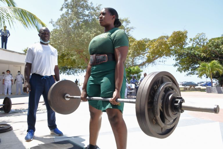 RBDF continues Health and Fitness Month with deadlift competition