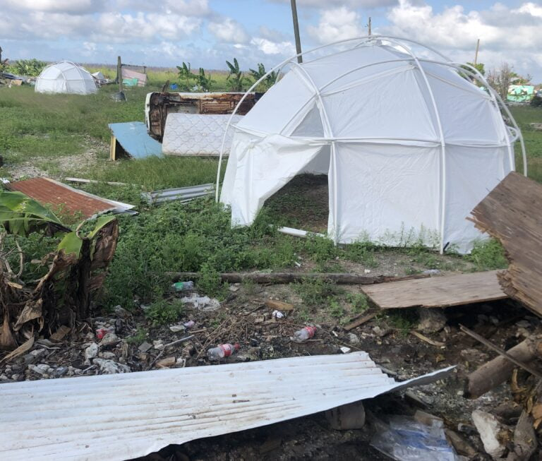 BALANCING ACT: Mitchell says govt's approach to shantytowns must consider both intl obligations and local laws