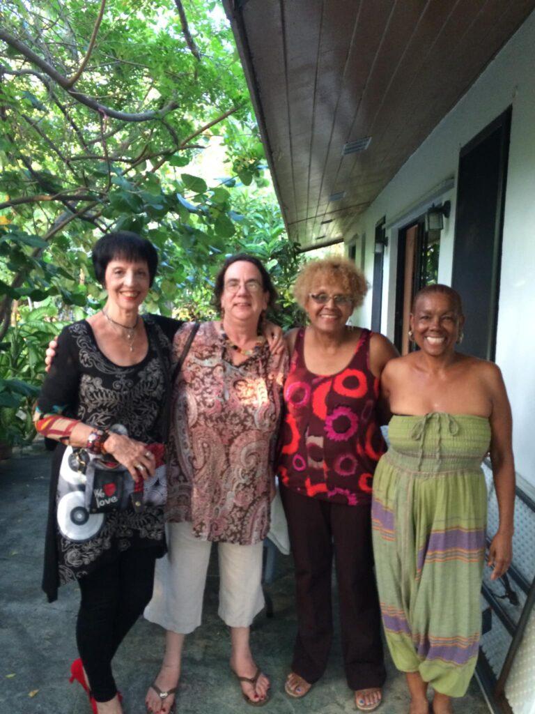 A DEVASTATING LOSS: Donna Nicolls of the Bahamas Crisis Center passes
