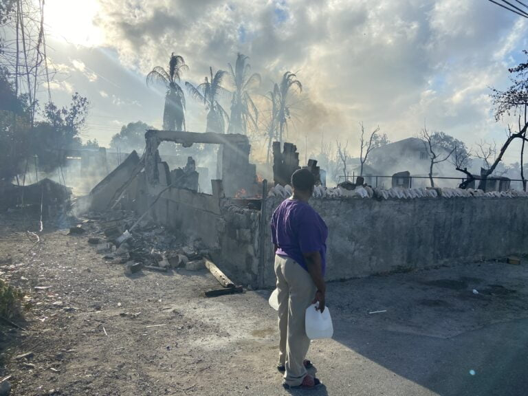 ONLY SO FAR: Social services to assist fire victims but only in immediate short-term