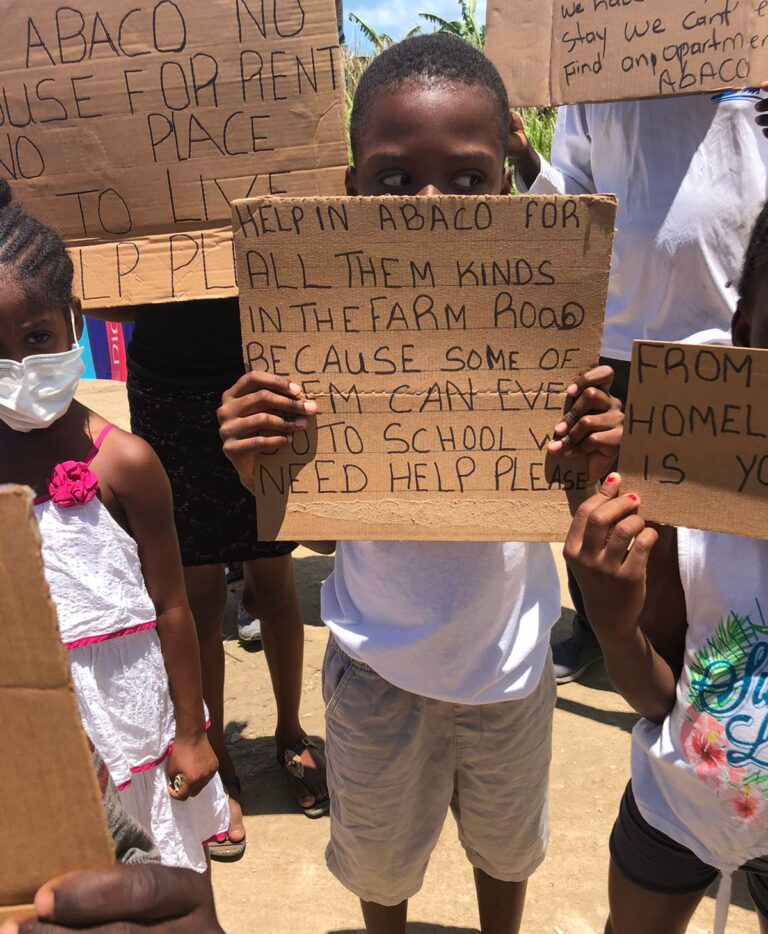 HELP US: Shantytown residents make impassioned plea for UN intervention in ongoing demolition of homes