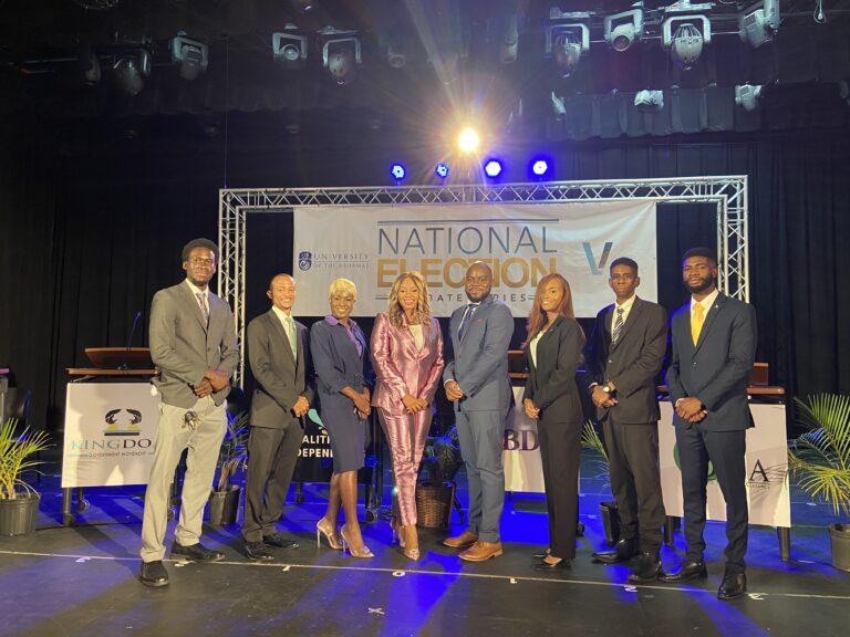 Davis congratulates parties in debate series; slams FNM's abstention