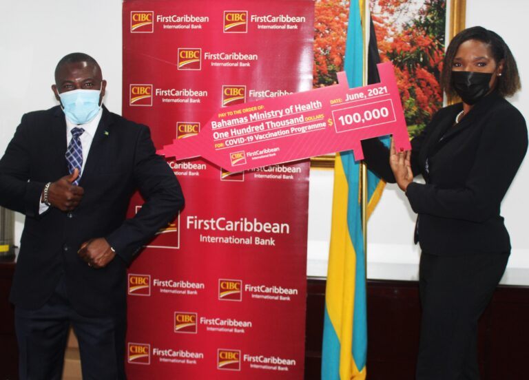 CIBC FirstCaribbean donates $100K towards continued fight against COVID-19