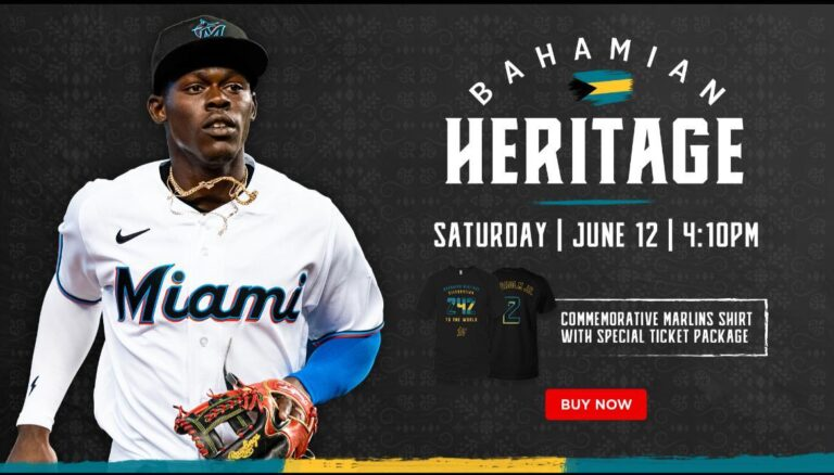 Bahamian heritage will be celebrated at Miami Marlins game