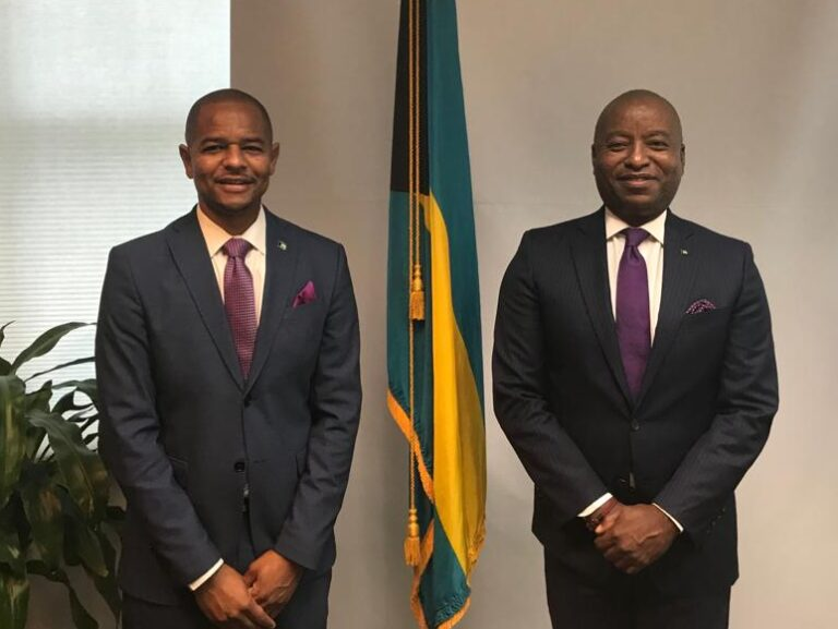 Foreign affairs minister meets with High Commissioner Designate Sebas Bastian