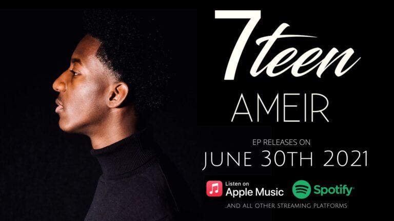 Local teenager Ameir debuts megastars-produced EP