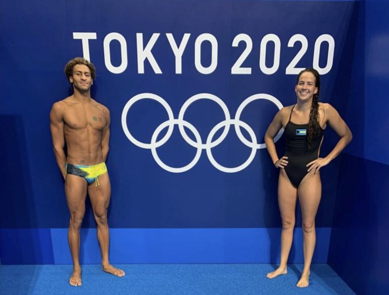 Evans, Bastian compete in Tokyo