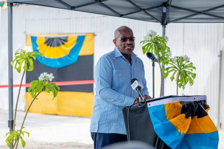 PM announces serviced lots development for Eleuthera