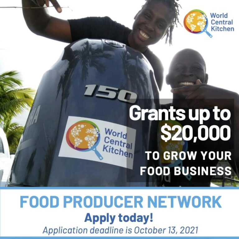 World Central Kitchen announces new round of grants for food production projects in The Bahamas