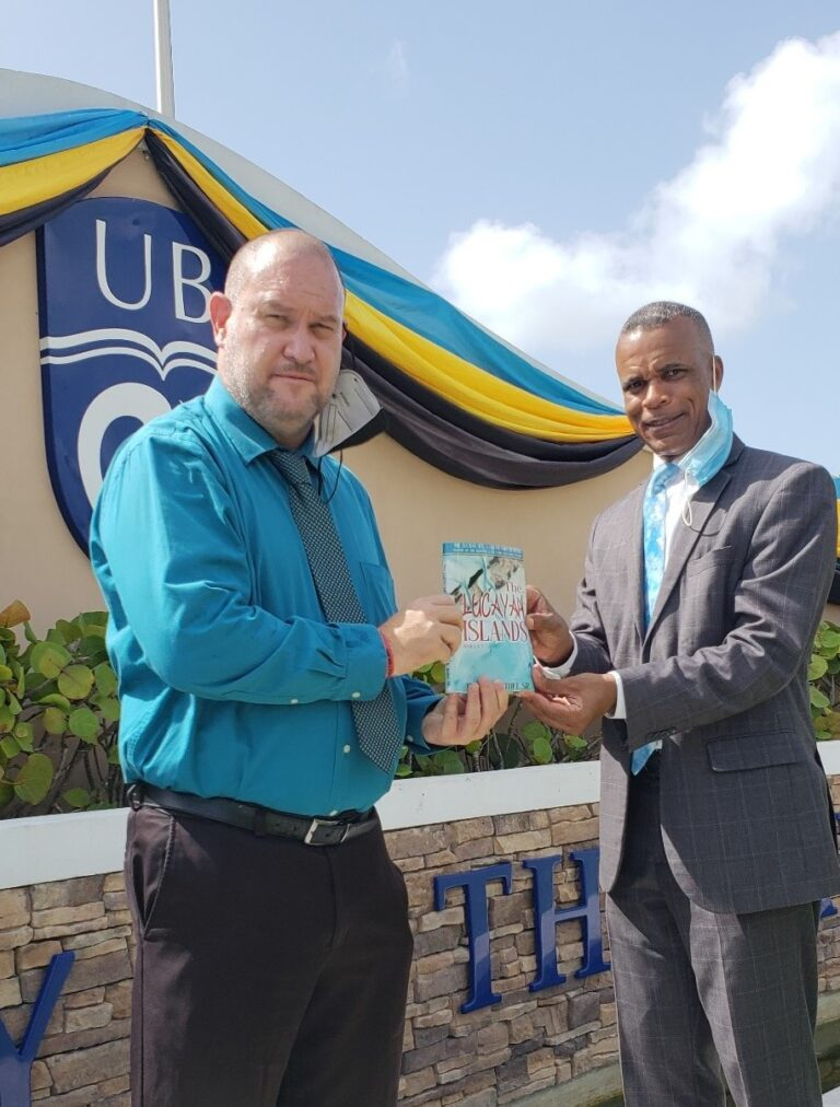 Former RBDF commander pens trilogy telling Lucayan islands story; reaffirms reason for naming waters 'Lucayan Sea'