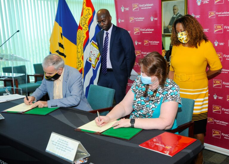 CIBC FirstCaribbean signs on for three more years of support to UWI