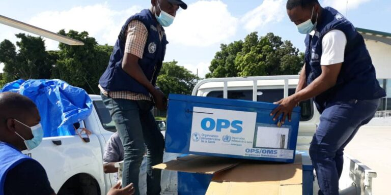 PAHO deploys experts to support Haiti during earthquake aftermath