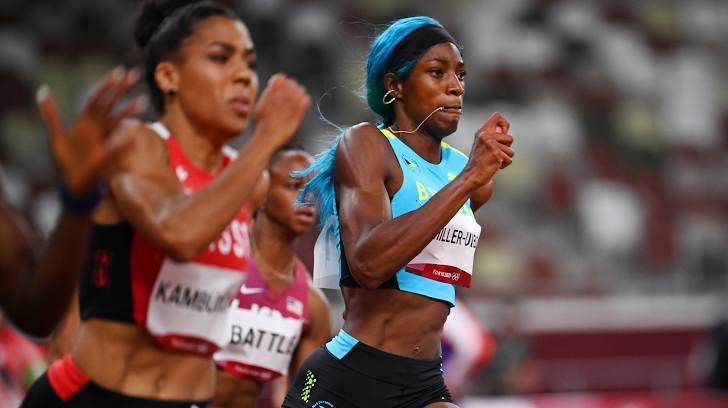 SAVING THE BEST FOR LAST: Miller-Uibo trails in 200m; hopeful for 400m