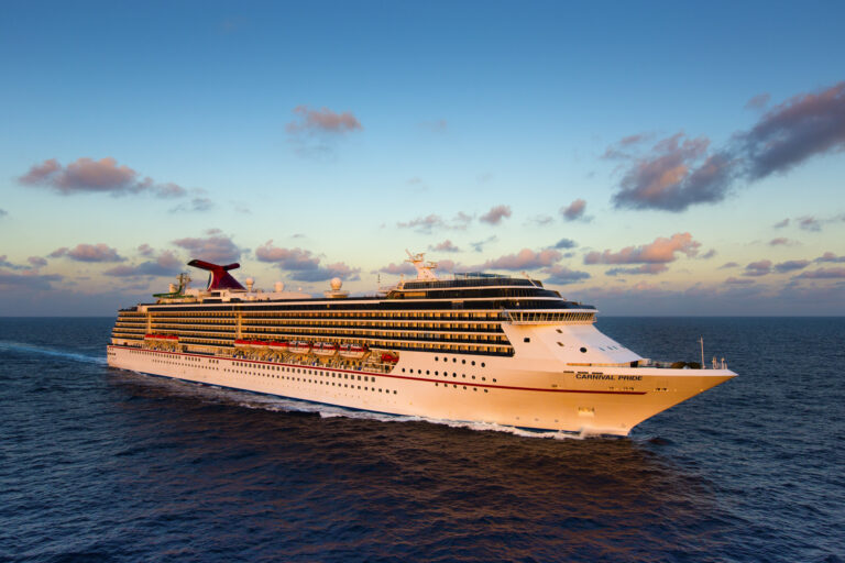 Carnival Pride makes line's first call to Freeport since resuming service