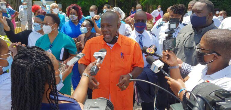 FINAL WARNING: BPSU warns airport and hospital shutdown if concerns not met