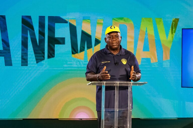 CHANGES TO COME ON DAY ONE: PLP leader makes final push for party support
