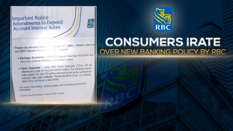 VEX AGAIN: RBC draws more ire from customers as it moves to end interest on savings accounts