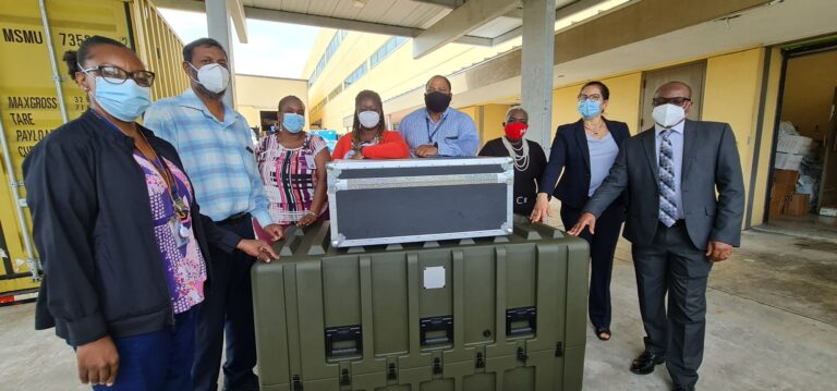 PMH receives portable X-ray machine donated by FitPart